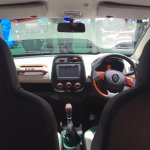 Renault Kwid Climber dashboard at Auto Expo 2016