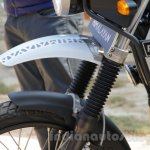 Royal Enfield Himalayan fork bellow dust cover unveiled