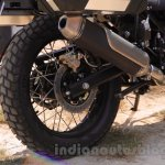 Royal Enfield Himalayan rear disc brake tyre unveiled