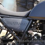 Royal Enfield Himalayan side cowl rider seat unveiled
