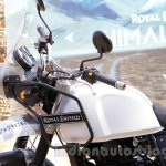 Royal Enfield Himalayan white fuel tank unveiled