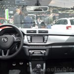 Skoda Fabia Combi ScoutLine dashboard at the 2016 Geneva Motor Show Live