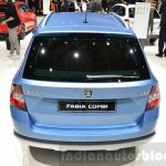 Skoda Fabia Combi ScoutLine rear at the 2016 Geneva Motor Show Live