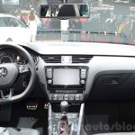 Skoda Octavia RS 4X4 dashboard at the 2016 Geneva Motor Show Live