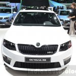 Skoda Octavia RS 4X4 front at the 2016 Geneva Motor Show Live