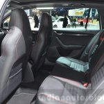 Skoda Octavia RS 4X4 rear seat at the 2016 Geneva Motor Show Live