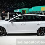 Skoda Octavia RS 4X4 side at the 2016 Geneva Motor Show Live