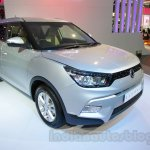 SsangYong Tivoli left front three quarter at Auto Expo 2016