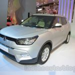 SsangYong Tivoli right front three quarter at Auto Expo 2016