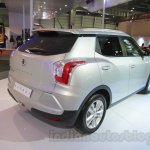 SsangYong Tivoli right rear three quarter at Auto Expo 2016