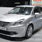 Suzuki Baleno 1.0 Boosterjet front three quarters left at 2016 Geneva Motor Show