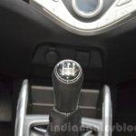 Suzuki Baleno 1.0 Boosterjet gear knob at 2016 Geneva Motor Show