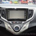 Suzuki Baleno 1.0 Boosterjet infotainment at 2016 Geneva Motor Show