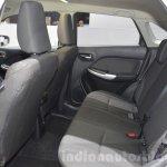 Suzuki Baleno 1.0 Boosterjet rear seat at 2016 Geneva Motor Show