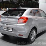 Suzuki Baleno 1.0 Boosterjet rear three quarter at 2016 Geneva Motor Show