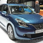 Suzuki Baleno 1.2 SHVS front three quarters at 2016 Geneva Motor Show