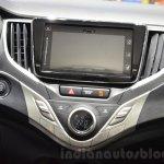 Suzuki Baleno 1.2 SHVS infotainment at 2016 Geneva Motor Show