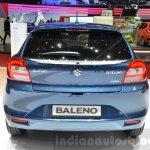 Suzuki Baleno 1.2 SHVS rear at 2016 Geneva Motor Show