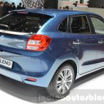 Suzuki Baleno 1.2 SHVS rear three quarter at 2016 Geneva Motor Show