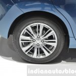 Suzuki Baleno 1.2 SHVS rear wheel tire at 2016 Geneva Motor Show