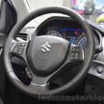 Suzuki Baleno 1.2 SHVS steering wheel at 2016 Geneva Motor Show