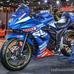 Suzuki Gixxer Cup race bike Gixxer SF at Auto Expo 2016