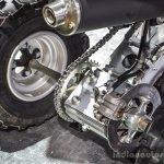 Suzuki Ozark 250 inboard rear disc brake Auto Expo 2016