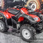 Suzuki QuadSport Z400 tyres at Auto Expo 2016