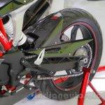 TVS Akula 310 Racing Concept aluminium swingarm at Auto Expo 2016