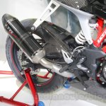 TVS Akula 310 Racing Concept exhaust at Auto Expo 2016