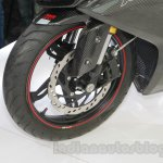 TVS Akula 310 Racing Concept inverted fork at Auto Expo 2016