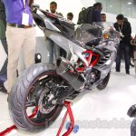 TVS Akula 310 Racing Concept rear quarter at Auto Expo 2016
