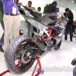 TVS Akula 310 Racing Concept rear quarter at Auto Expo 2016