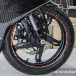 TVS Akula 310 alloy wheel at Auto Expo 2016