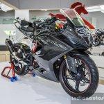 TVS Akula 310 carbon fibre fairing at Auto Expo 2016