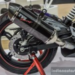 TVS Akula 310 exhaust at Auto Expo 2016