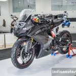 TVS Akula 310 front quarter at Auto Expo 2016