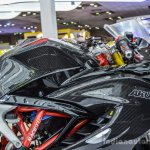 TVS Akula 310 fuel tank at Auto Expo 2016