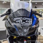 TVS Akula 310 head lamps at Auto Expo 2016