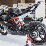 TVS Akula 310 rear tyre at Auto Expo 2016
