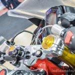 TVS Akula 310 steering damper at Auto Expo 2016