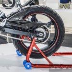 TVS Akula 310 swingarm at Auto Expo 2016