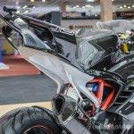 TVS Akula 310 tail fairing at Auto Expo 2016
