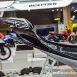 TVS Akula 310 tail piece at Auto Expo 2016