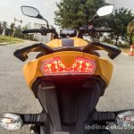 TVS Apache RTR 200 4V LED tail lamp review