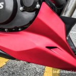 TVS Apache RTR 200 4V engine cowl review