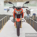 TVS Apache RTR 200 4V front at Auto Expo 2016