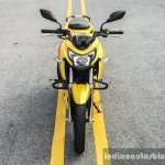 TVS Apache RTR 200 4V front review