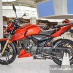 TVS Apache RTR 200 4V left at Auto Expo 2016
