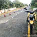 TVS Apache RTR 200 4V on TVS test track review